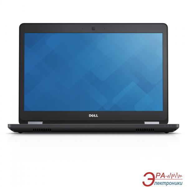 Ноутбук Dell Latitude E5470 (N001LE5470U14EMEA_UBU) Black 14