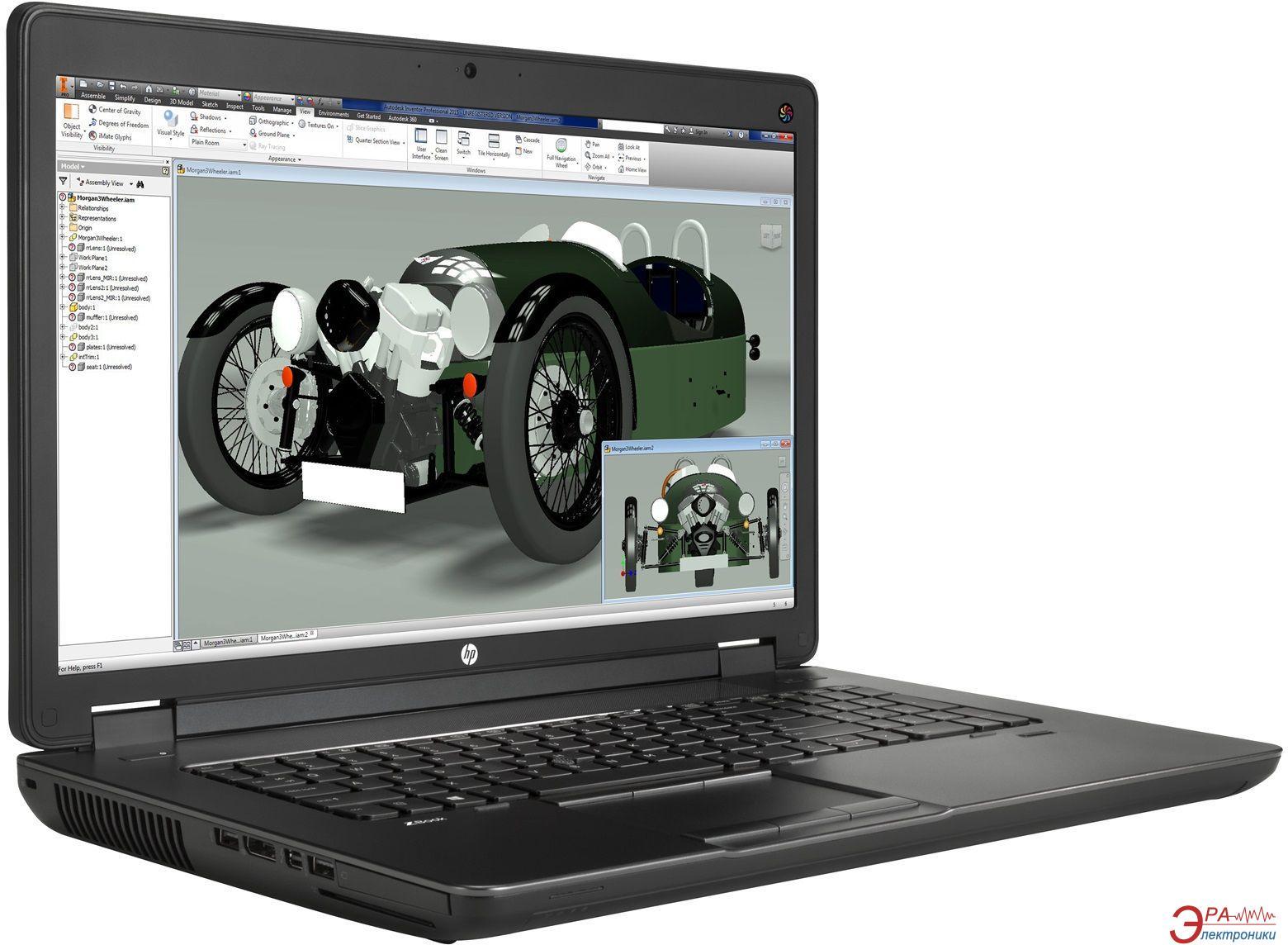 Ноутбук HP Zbook 17/1 G2 (G6Z41AV) Black 17,3