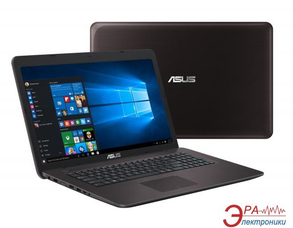 Ноутбук Asus X756UV-TY001D (90NB0C71-M00010) Dark Brown 17,3
