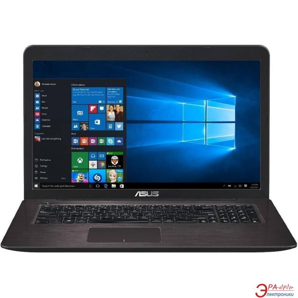 Ноутбук Asus X756UA-T4146D (90NB0A01-M01820) Dark Brown 17,3