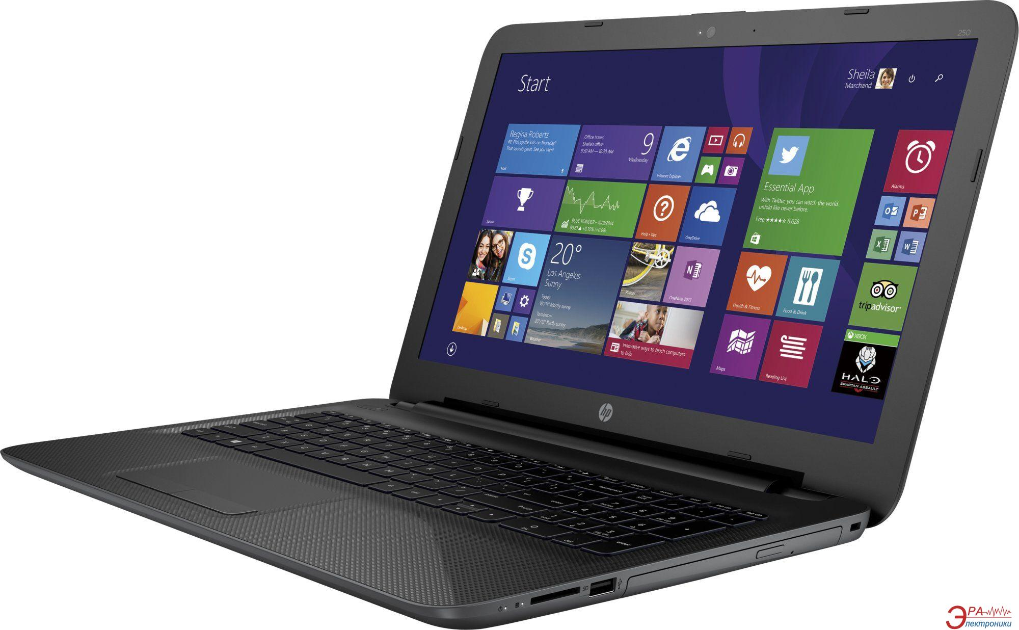 Ноутбук HP 250 G4 (P5T70EA) Black 15,6