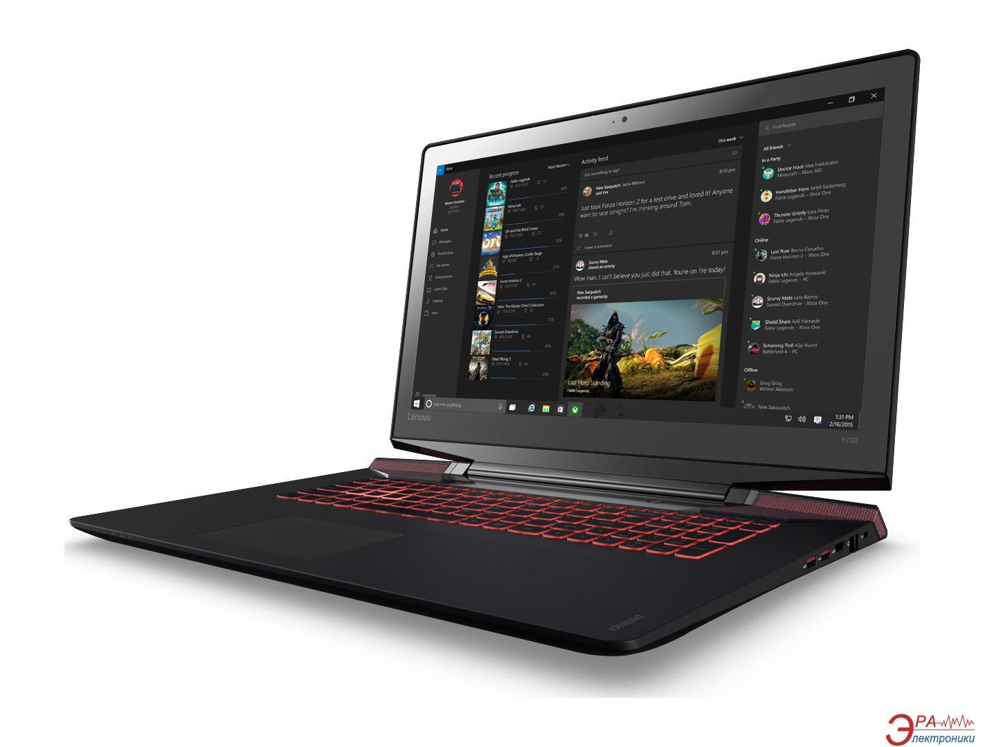 Ноутбук Lenovo IdeaPad Y700-17 (80Q00072UA) 17,3