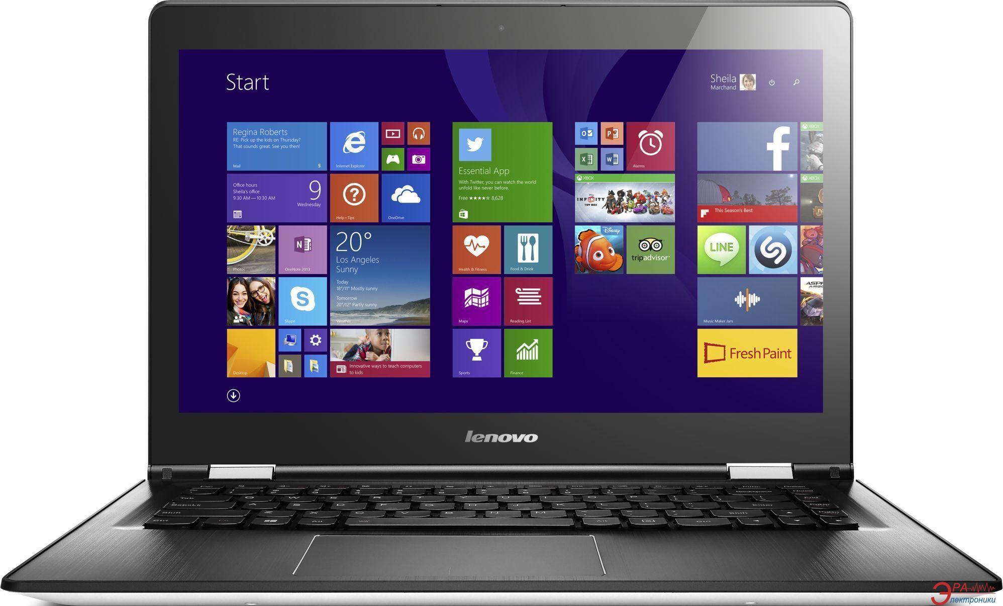 Ноутбук Lenovo Yoga 500 (80R500JLUA) White 14