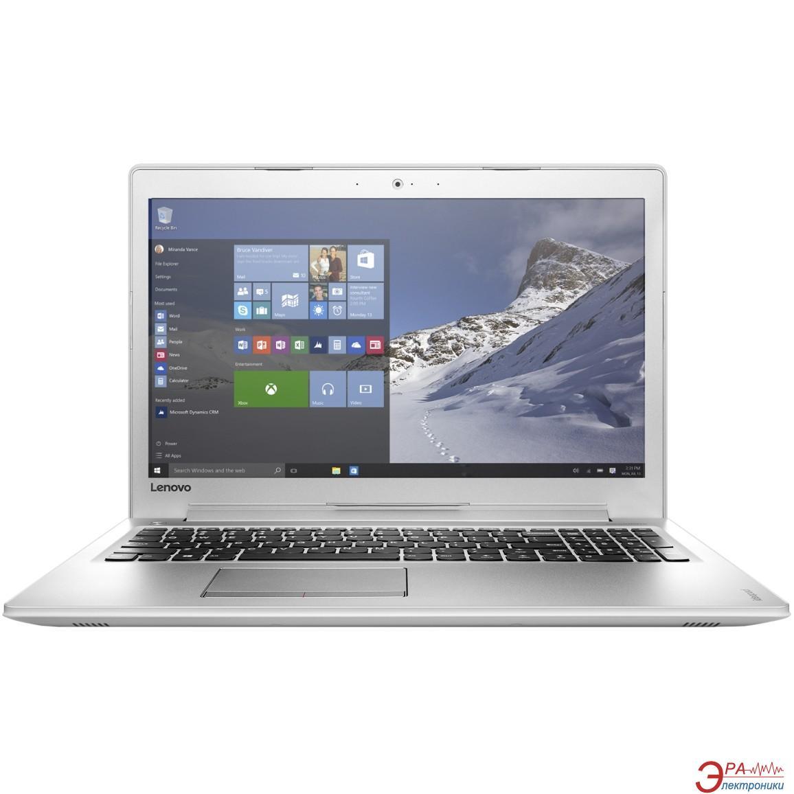 Ноутбук Lenovo IdeaPad 510-15IKB (80SV00BNRA) White 15,6