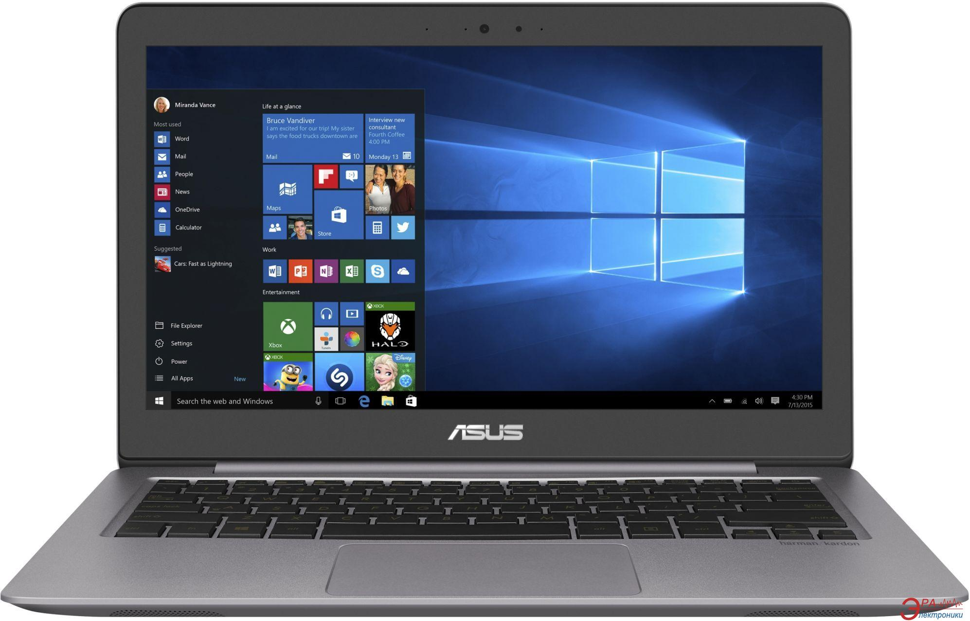 Ноутбук Asus UX310UA-FB217R (90NB0CJ1-M03300) Grey 13,3