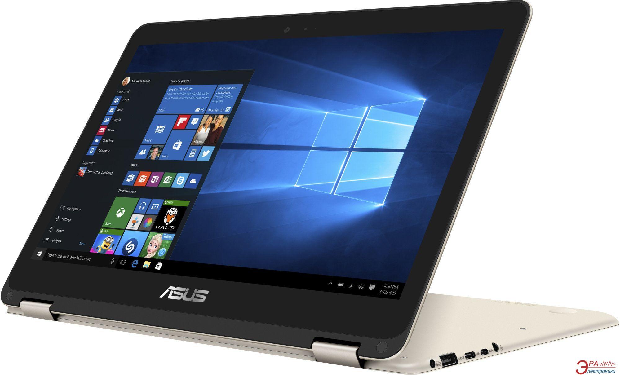 Ноутбук Asus UX360CA-C4069R (90NB0BA1-M02570) Gold 13,3