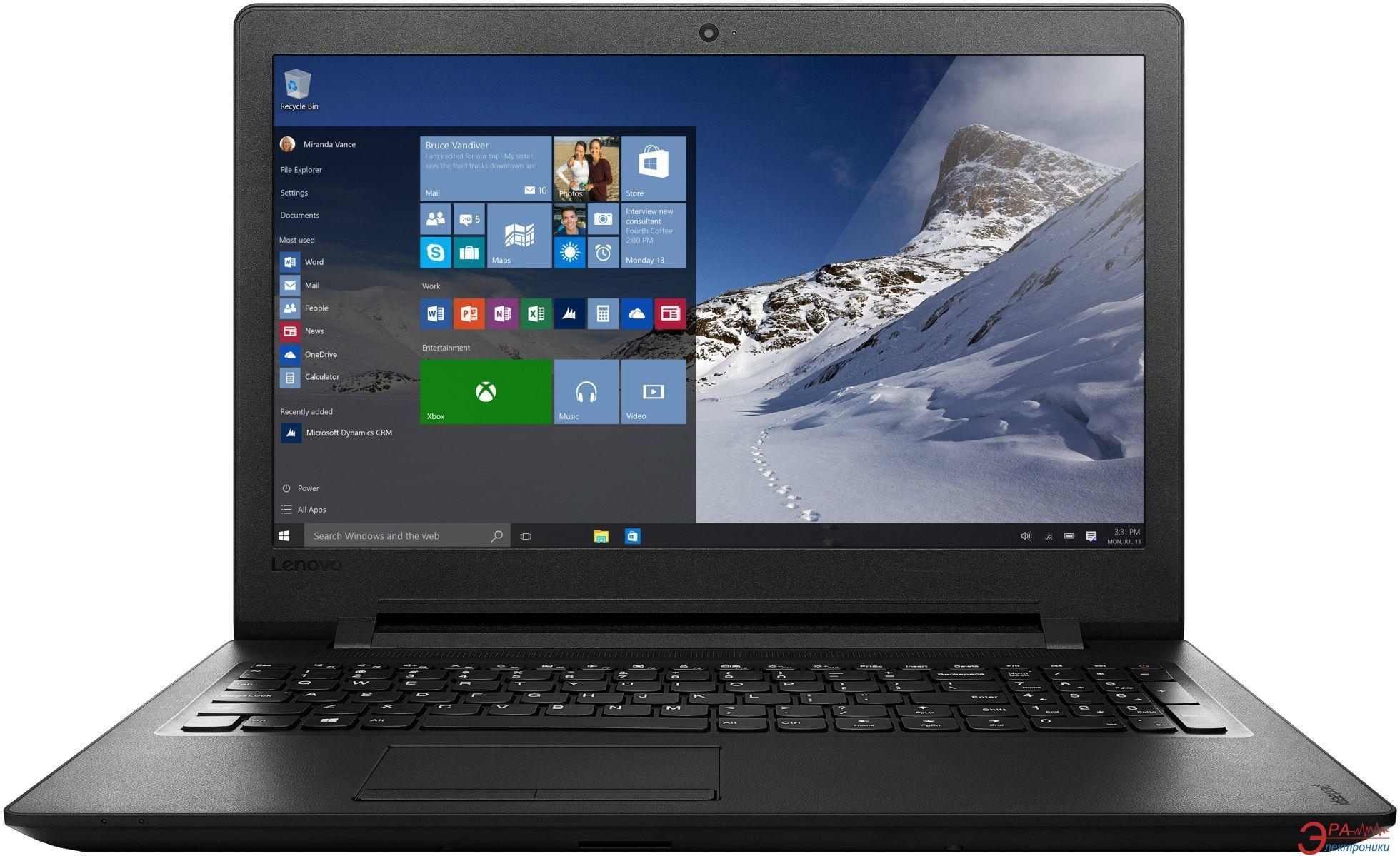 Ноутбук Lenovo IdeaPad 110-15ISK (80UD0023RA) Black 15,6