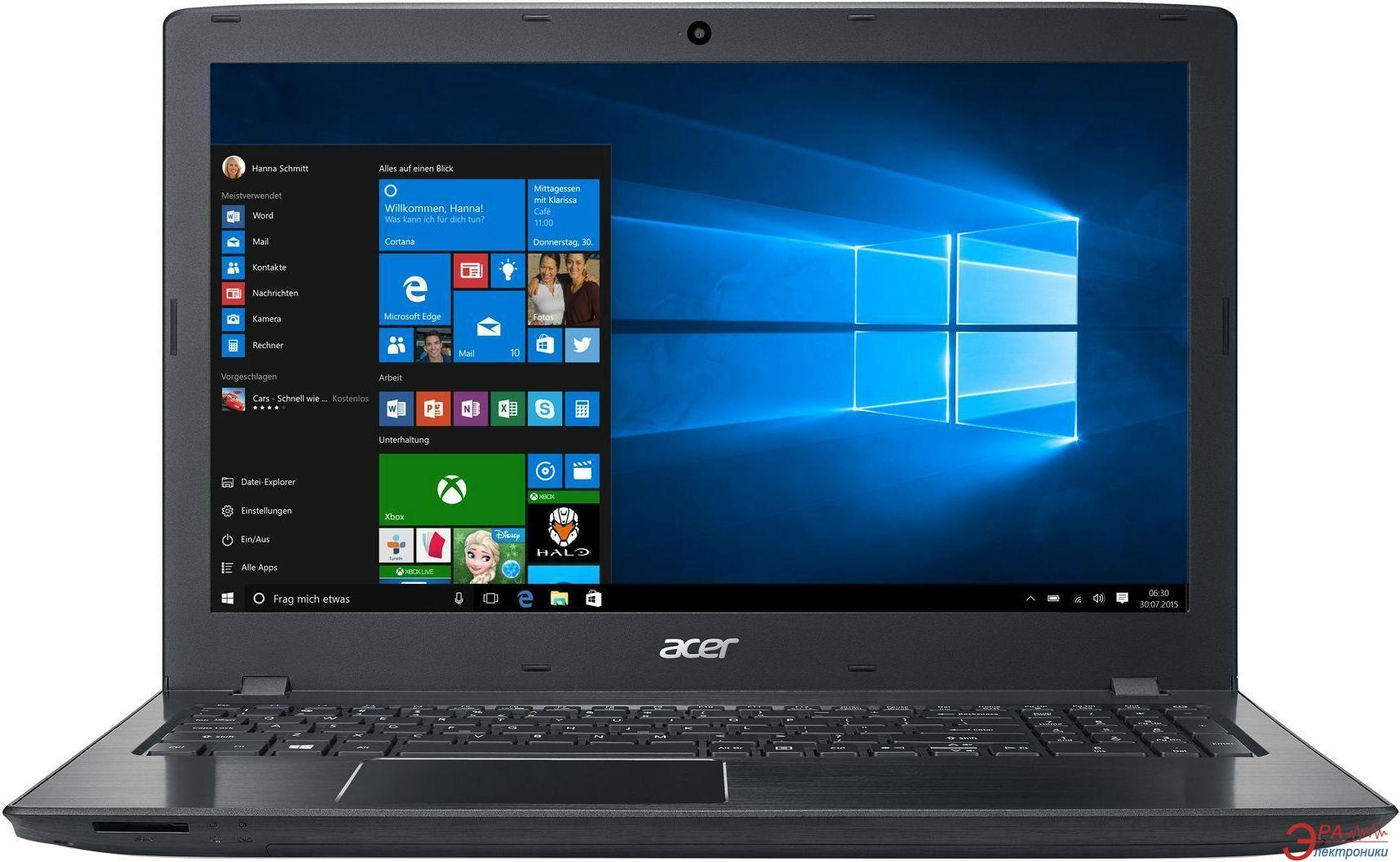 Ноутбук Acer E5-575-38XP (NX.GE6EU.028) Black 15,6