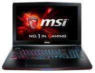 Ноутбук MSI GE62-VR6RF (GE62VR6RF-231XUA) Black 15,6