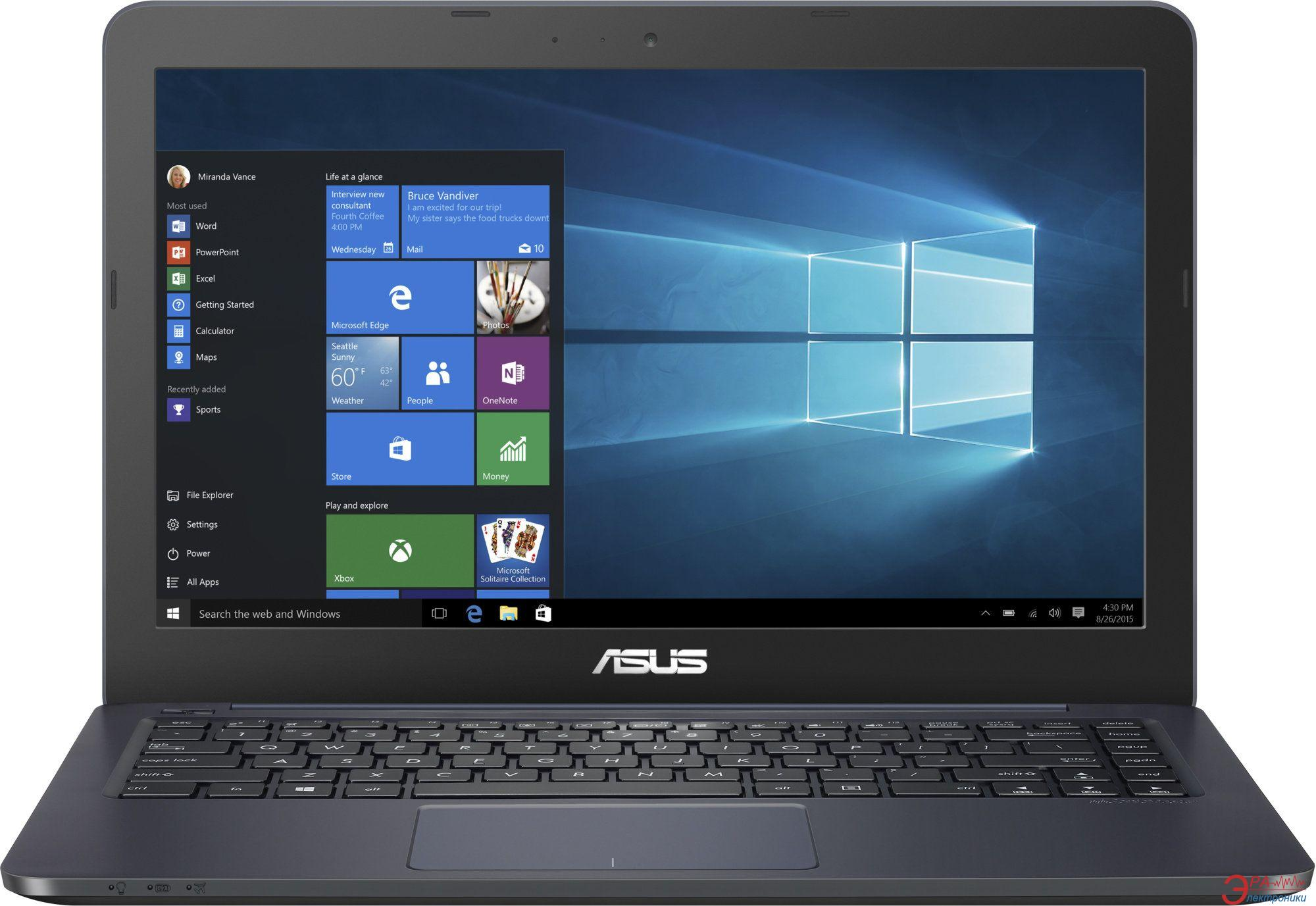 Ноутбук Asus E402SA-WX134D (90NB0B63-M03390) Blue 14