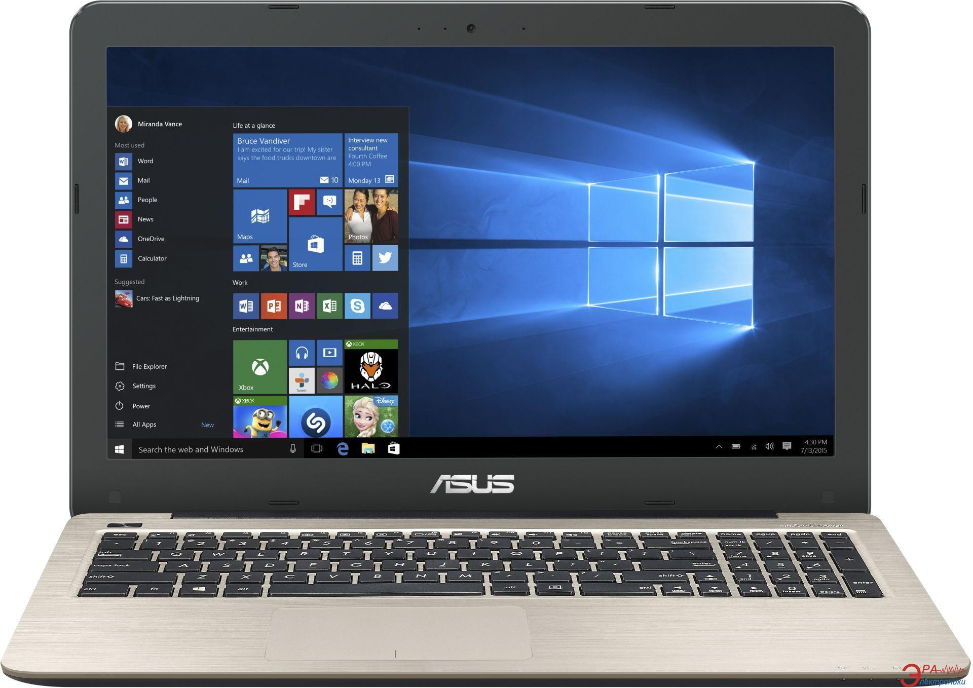 Ноутбук Asus X556UQ-DM241D (90NB0BH3-M02750) Gold 15,6