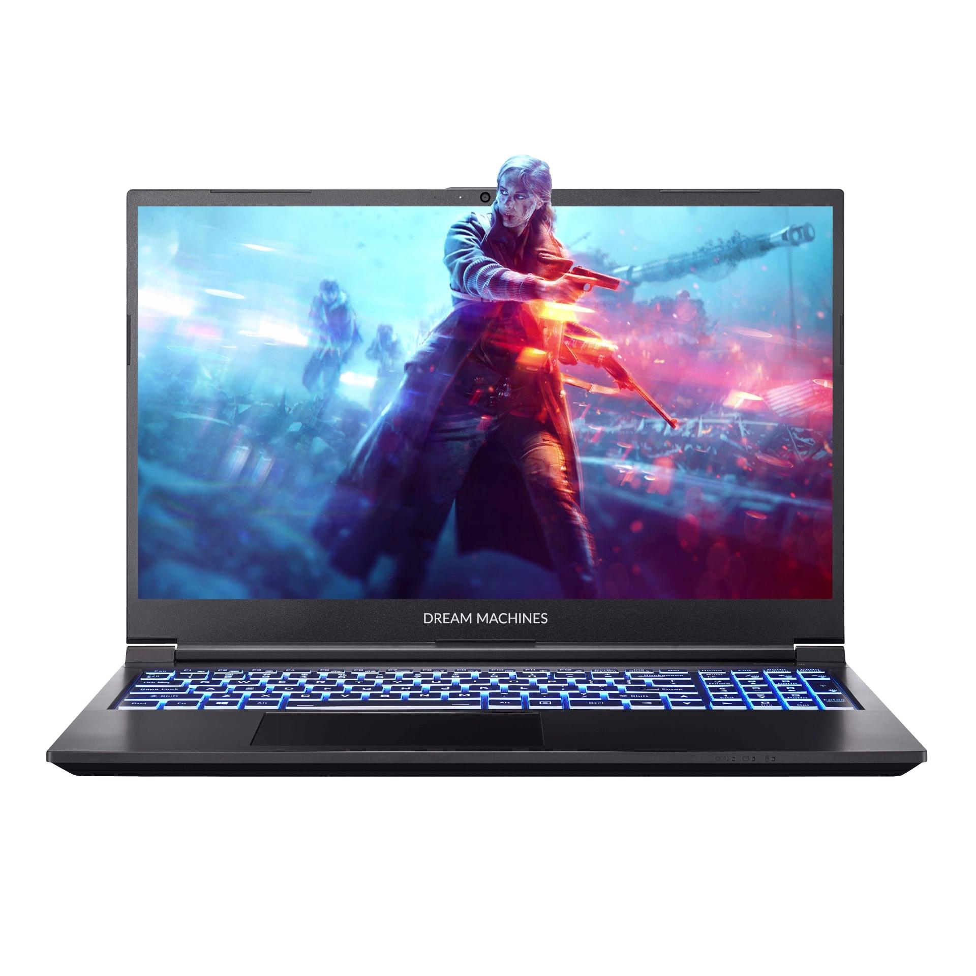 Ноутбук Dream Machines G1650Ti-15 SS (G1650TI-15UA62) Black