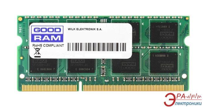 Оперативная память SO-DIMM DDR4 8 Gb 2133 МГц Goodram (GR2133S464L15/8G)