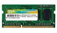 SO-DIMM DDR3 4 Gb 1600 ��� Silicon Power (SP004GLSTU160N02)