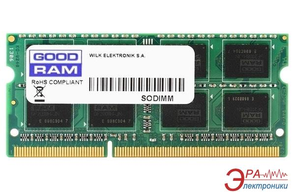 Оперативная память SO-DIMM DDR3 2 Gb 1600 МГц Goodram (GR1600S3V64L11N/2G)