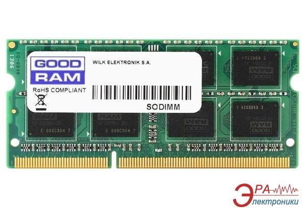 Оперативная память SO-DIMM DDR3 2 Gb 1600 МГц Goodram (GR1600S364L11N/2G)