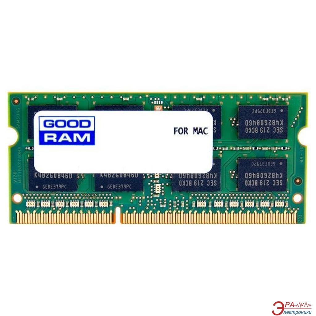 Оперативная память SO-DIMM DDR3 8 Gb 1600 МГц Goodram for Apple iMac (W-AMM16008G)