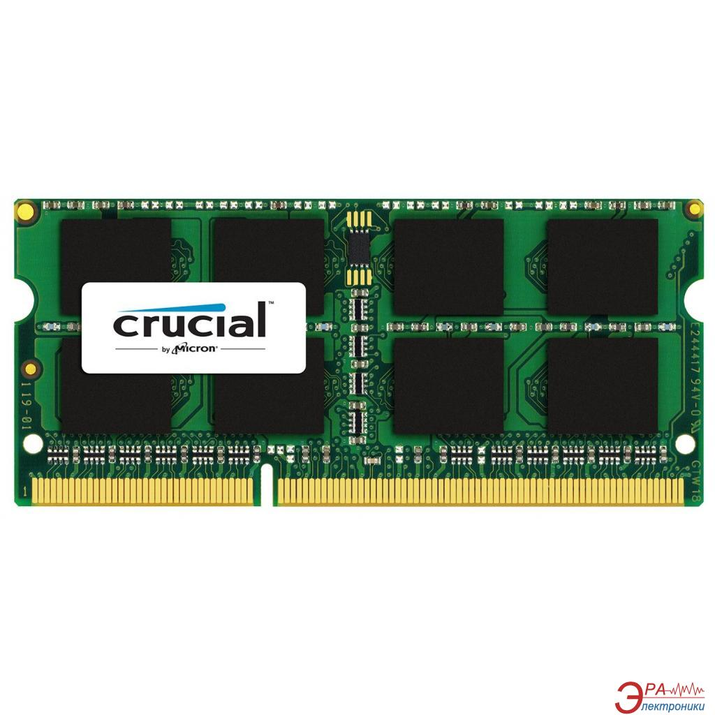 Оперативная память SO-DIMM DDR3L 8 Gb 1866 МГц Crucial (CT8G3S186DM)
