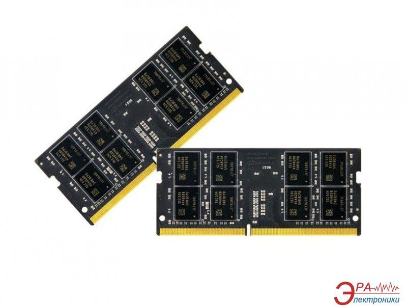 Оперативная память SO-DIMM DDR4 2*16 Gb 2133 МГц Team Elite (TED432G2133C15DC-S01)