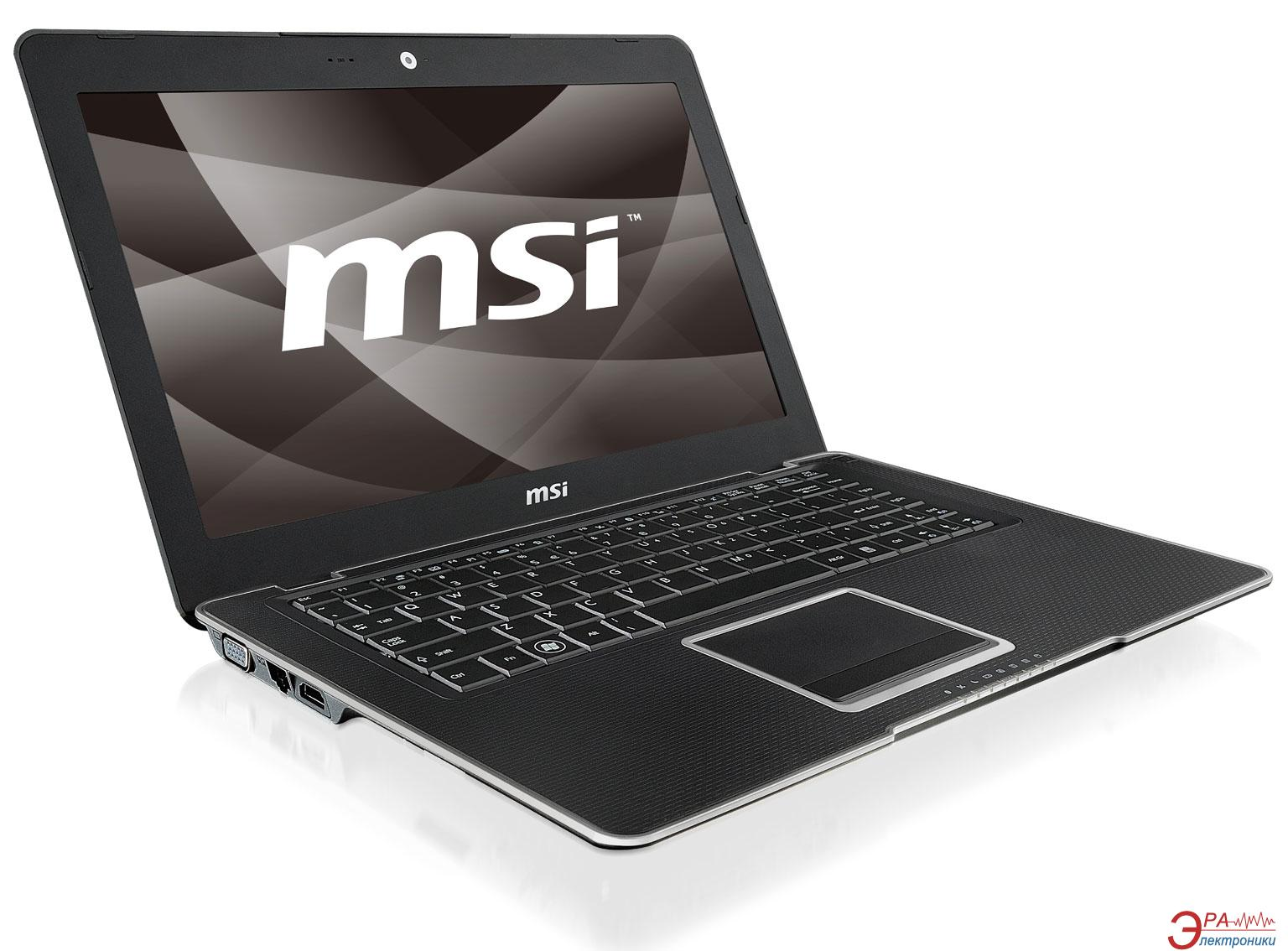 Ноутбук MSI X410 (X410-010UA) Black 14