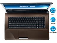 Ноутбук Asus K72F-TY190R (P6100-S2CRAN) Brown 17,3
