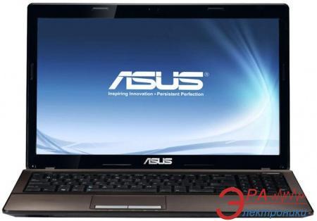 Ноутбук Asus K53SJ (K53SJ-2310M-S3DDAN) Brown 15,6