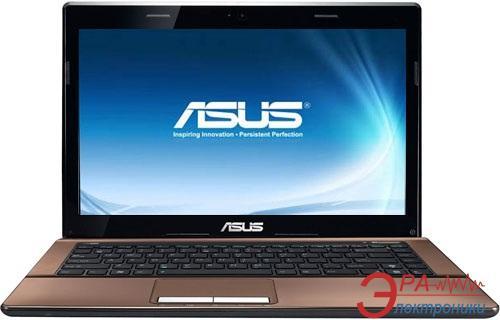 Ноутбук Asus K43E (K43E-2310M-S4DDAN) (90N3RAD44W28256013AU) Brown 14
