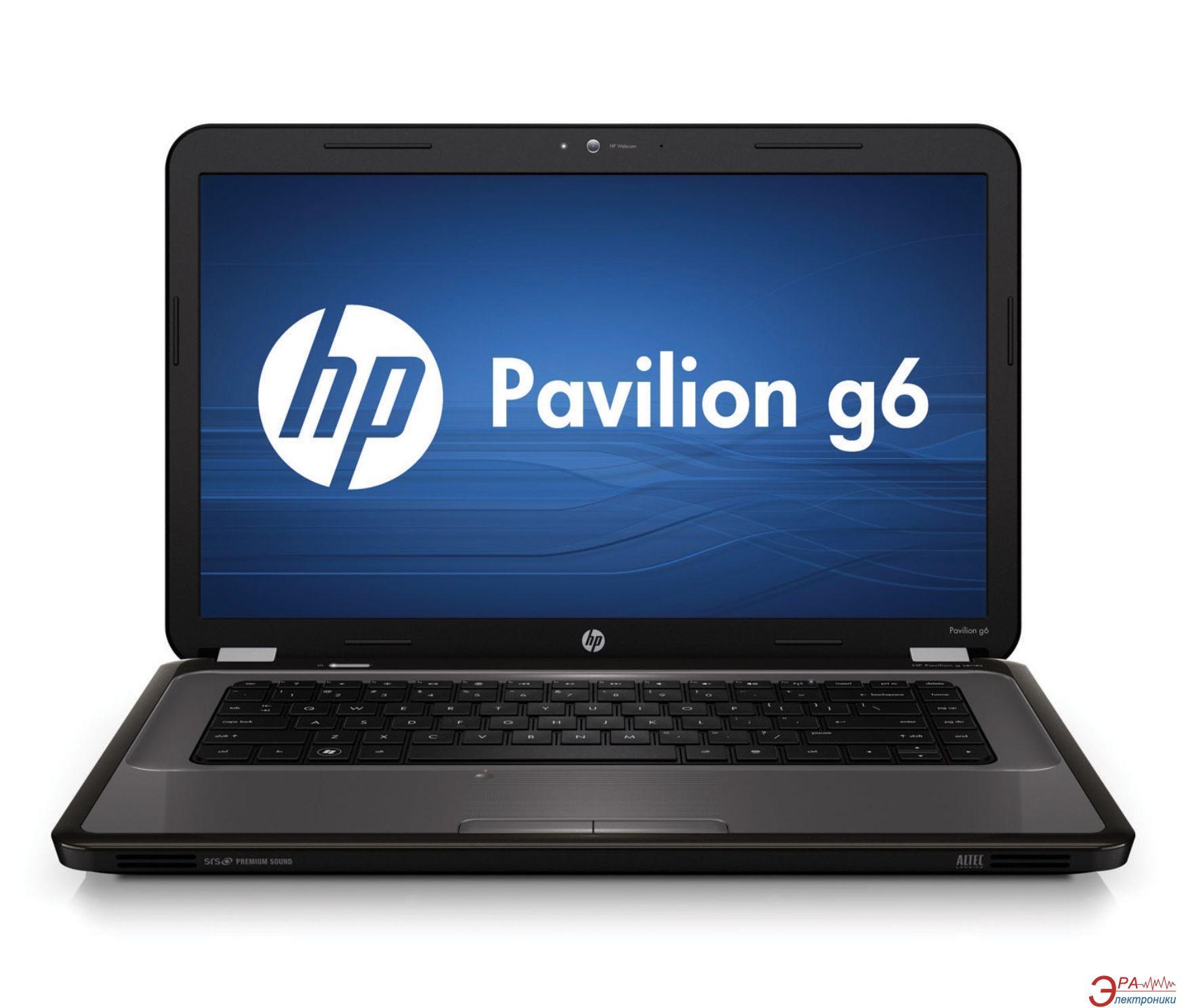 Ноутбук HP Pavilion g6-1078er (LP288EA) Grey 15,6