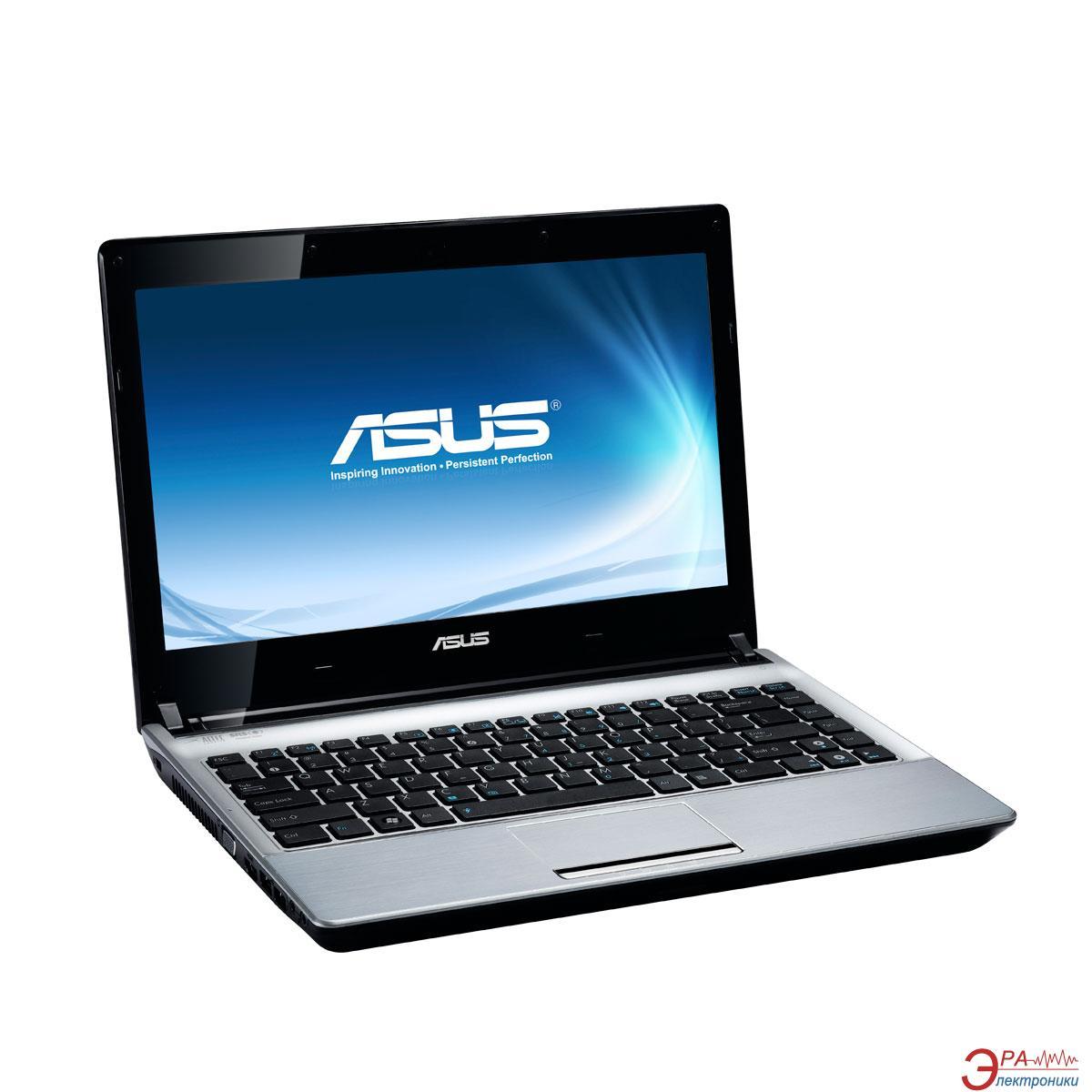 Ноутбук Asus U30SD-RX051D (U30SD-2410M-S4EDAN) Silver 13,3