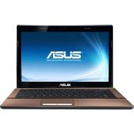 Ноутбук Asus K43E-VX070D (K43E-2310M-S2CDAN) Brown 14