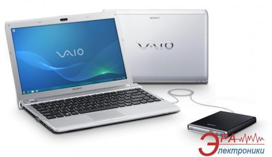 Ноутбук Sony VAIO VPC-Y21M1R/SI (VPCY21M1R/SI.RU3) Silver 13,3