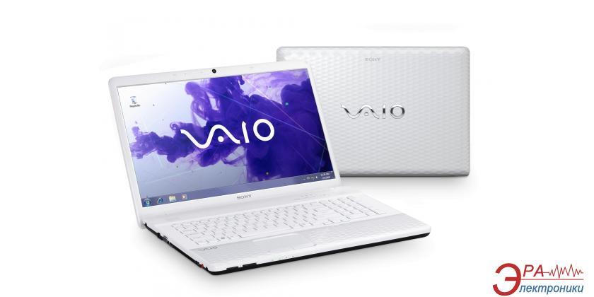 Ноутбук Sony VAIO EL3S1R/ W (VPCEL3S1R/W.RU3) White 15,6