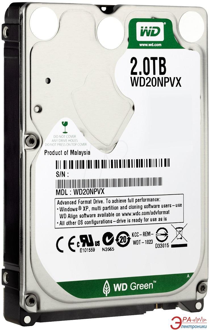 Жесткий диск 2TB WD WD20NPVX