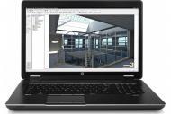 Ноутбук HP ZBook 17 (J9A24EA) Black 17,3