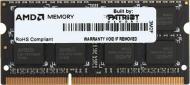 SO-DIMM DDR3 8 Gb 1600 МГц AMD (R538G1601S2S-UGOBULK)