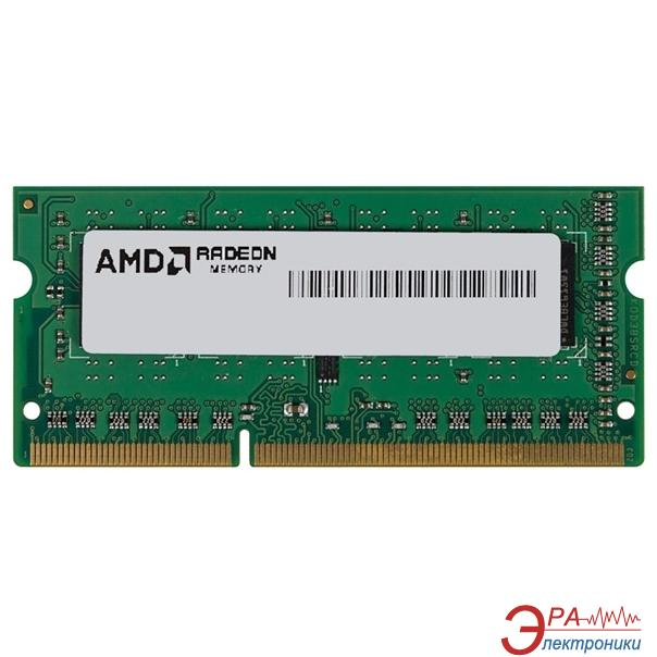 Оперативная память SO-DIMM DDR3 2 Gb 1600 МГц AMD BULK (R532G1601S1S-UO)