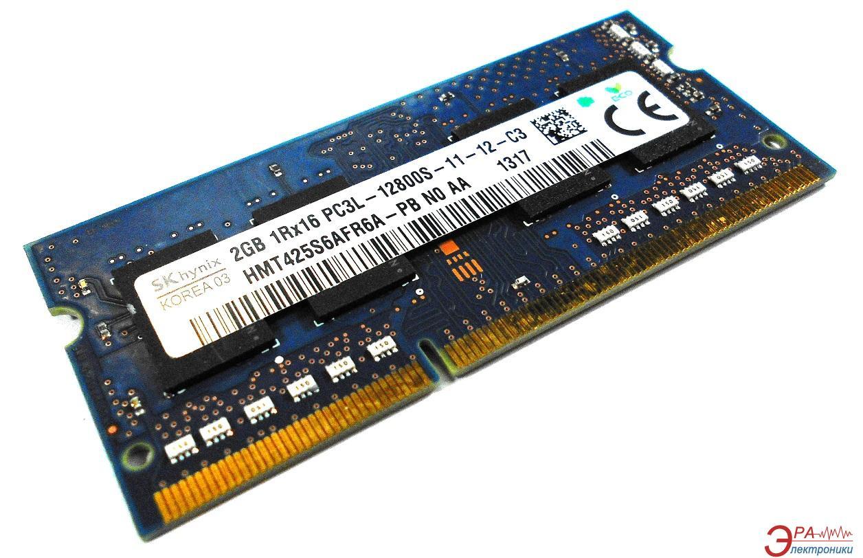 Оперативная память SO-DIMM DDR3 2 Gb 1600 МГц Hynix (HMT425S6AFR6A-PBNA)