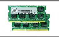 SO-DIMM DDR3 2*4 Gb 1066 ��� G.Skill (FA-8500CL7D-8GBSQ)