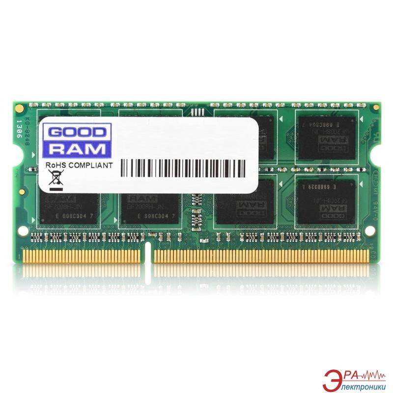 Оперативная память SO-DIMM DDR3L 2 Gb 1600 МГц Goodram (GR1600S3V64L11/2G)
