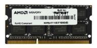 SO-DIMM DDR3 4 Gb 1333 ��� Patriot AMD (R334G1339S1S-UOBULK)