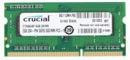 SO-DIMM DDR3 2 Gb 1600 МГц Crucial (CT25664BF160B)