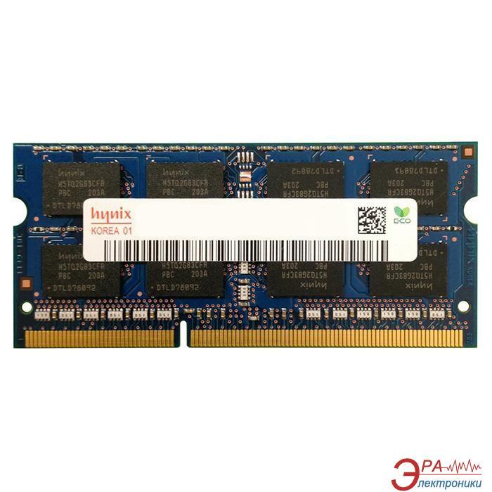Оперативная память SO-DIMM DDR3 8 Gb 1866 МГц Hynix original (HMT41GS6AFR8C-RDN0)