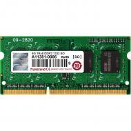 Оперативная память SO-DIMM DDR3 4 Gb 1333 МГц Transcend (TS512MSK64V3H)