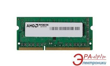 Оперативная память SO-DIMM DDR3L 4 Gb 1600 МГц AMD (R534G1601S1SL-UOBULK)