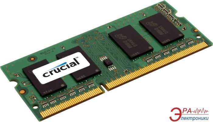 Оперативная память SO-DIMM DDR3 4 Gb 1600 МГц Crucial (CT4G3S160BMCEU)