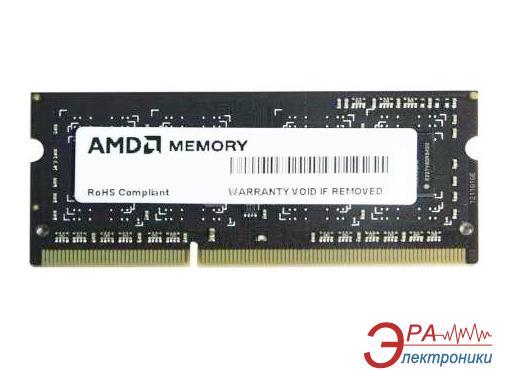 Оперативная память SO-DIMM DDR3 2 Gb 1600 МГц AMD BULK (R532G1601S1SL-UO)