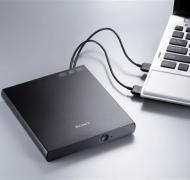 DVD±RW Sony DRX-S90U Slim Retail (DRX-S90U) Black