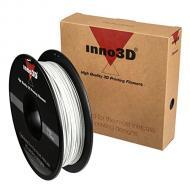 PLA-������� Inno3D 1.75mm 0.5kg White (3DP-FP175-WH05)