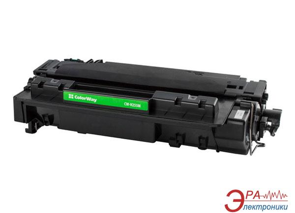 Совместимый картридж ColorWay CW-H255M (HP LaserJet p3015/p3015, Canon LBP 6700/6750/6780) Black