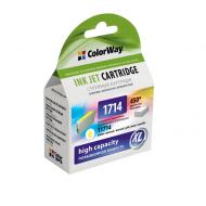 Совместимый картридж ColorWay (CW-EPT1714) (Epson XP-33/ 103/ 203/ 207/ 303/ 306/ 403/ 406) Yellow